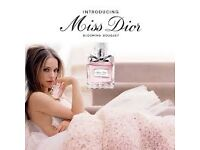 MISS DIOR 'BLOOMING BOUQUET' STUNNING FRAGRANCE, NEW-SEALED, COLLECT OR DELIVERY. TEL.07803366789.