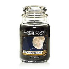LARGE Yankee Candle Midsummer's Night