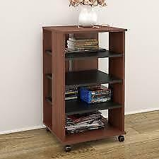 Brittany Mobile Storage Audio Rack See More by Latitude Run