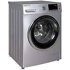 HAIER 24 INCH FRONT LOAD Electric Washer & Dryer Combo (HLC1700AXS) SILVER  SUPER SALE  $799.00 NO TAX