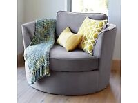 Lux Grey Sofa Chair