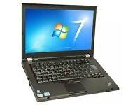 LENOVO T430 LAPTOP, CORE i5, 8 RAM, 256 SSD