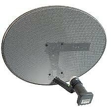 BRAND NEW SKY DISH WITH QUAD LNB £20 no offers thanks