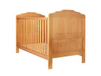 OBABY BEVERLEY COT BED IN COUNTRY PINE (RRP £169.99)