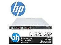 USED HP PROLIANT Dl360 G5 Server Hstns-2115 RAM Memory 2 X 72gb HDD Item Code P15