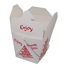 CHINESE TAKE OUT FOOD PAPER CONTAINERS