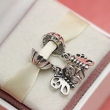 Genuine Pandora Friends Butterfly charm 790531