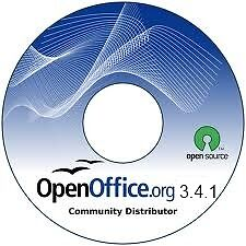 OPEN OFFICE SUITE FOR WINDOWS 98 2000 2007 XP VISTA & 7 WORD PROCESSOR