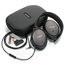 Used BOSE QC25 noise cancelling headphones