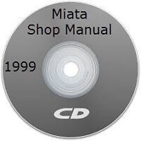 Shop manual miata 1999 jusqu'à 2005