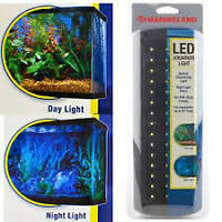 BRAND NEW IN PACKAGE, 12 INCH MARINELAND LED AQUARIUM LIGHT BAR