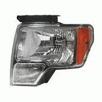 Driver's Side F150 Head Light 2009-2013  Factory OEM TakeOff