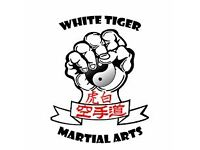 Shiro Tora Budo Kai – White Tiger Martial Arts - South Croydon