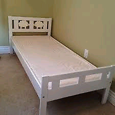 Ikea kids bed frame with matress.