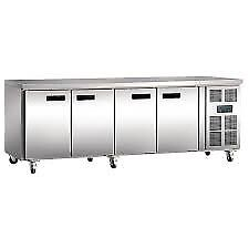 Polar G379 449 Ltr 4 Door Refrigerated Prep Counter