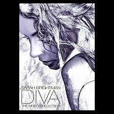 SARAH BRIGHTMAN DIVA The Video Collection Music DVD