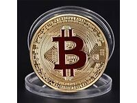 Souvenir/Collectors Bitcoin Coins GOLD/SILVER Brand New in Retail Packaging