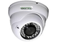 ahd cctv camera verifocal 2.0mp 1080p lens 2.8-12mm/3mp metal dome