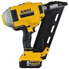 Dewalt dcn692p2 cordless framing nailer 2x 5.0 £21.39