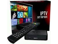 12 month IPTV subscription -mag 250/smart TV -Arabic/USA/UK/Europe/Asia