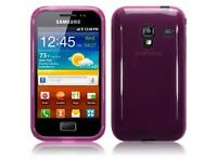samsung galaxy Ace purple unlocked in good working condition