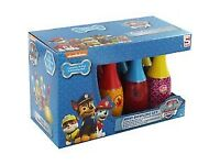 BRAND NEW IN THE BOXES GREAT CHRISTMAS PRESENT ASSORTED PAW PATROL TOYS MINI BOWS MINI PIANNO ECT