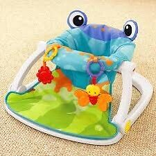 Frog sit me up chair fisher price