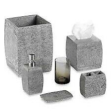 TWO Kenneth Cole Reactions Slate Bath Accessories sets