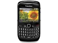 Blackberry 8520 in black (unlocked)