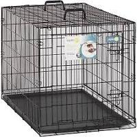 need: med to large size dog kennel