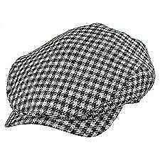 HOUNDSTOOTH CHECK CHECKER CAP/NEW