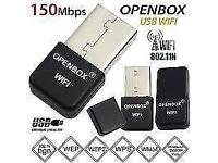 Openbox Skybox Wifi Dongle USB Adapter Antenna For F3 F3s F5 F5s V8 V8s V8se zgemma vu solo