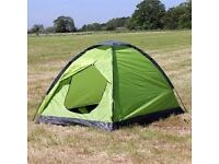 Two man tent allweather compact light weight flex poles