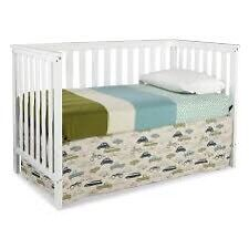 Rosland 3-in-1 Crib with Mattress Included