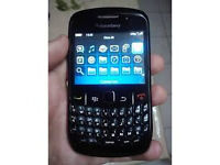 Blackberry 8520 mobile phone on vodaphone