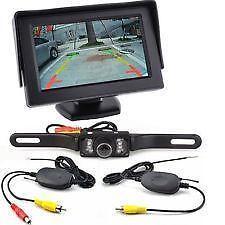 Backup Camera System: Rear View Monitors/Cams & Kits | eBay
