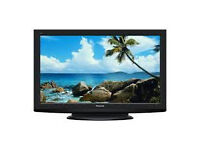 panasonic viera tx-p37x20b . good condition. free view nbuild in. fully workinng
