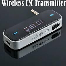 Wireless FM Transmitter for Iphones and Android Phones