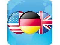 German <–> English Translation, Editing, Grammar & Spelling Correction
