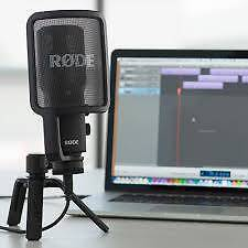 RODE NT-USB Microphone - AS NEW | BARELY USED! Balcatta Stirling Area Preview