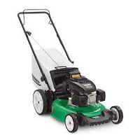 Gardener; grass cutter; Oil change for car (brack, engine,...)
