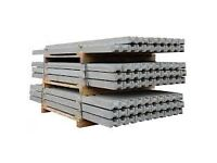 LAWMAC FENCING Concrete Slotted Fence Posts from £10.45