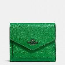 Wanted: green coach wallet & card holder