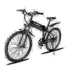 Weekly Promo! 26  ALUMINUM ALLOY FOLDING   MOUNTAIN EBIKE, XW-26X6, 500W, Black $1599(was $2099)