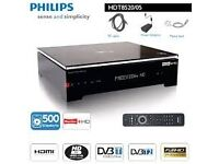PHILIPS HDT 8520 500GB PVR FREEVIEW HD FREEVIEW HD DIGITAL TERRESTRIAL RECORDER