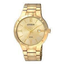 Citizen Men's BI5022-50P New Quartz Gold Dial Wrist Watch