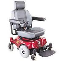 ELECTRIC POWER WHEELCHAIR for parts wtd