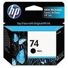 New HP 74 Ink Cartridge