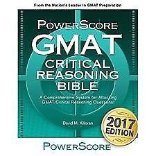 GMAT Critical Reasoning Bible guide book NEW