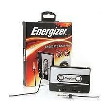 Cassette Adapter to AUX Cable ENERGIZER 24K Gold Plated Tip